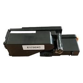 toner cyan pour imprimante Epson C1700 équivalent C13S050613