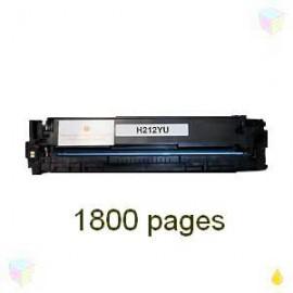 toner yellow pour imprimante HP Laserjet Pro 200 Color M251n équivalent CF212A - N°131A