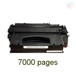 Toner noir compatible EP708H - Q5949X - Q7553X
