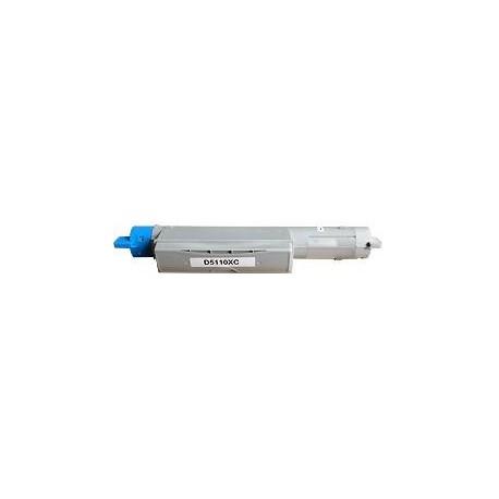 toner cyan pour imprimante Dell Color Laser Printer 5110 équivalent 593-10119