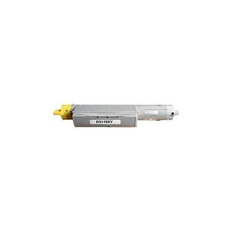 toner yellow pour imprimante Dell Color Laser Printer 5110 équivalent 593-10123