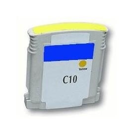 cartouche yellow pour imprimante HP Color Printer 2000 Cn équivalent C4842A - N°10