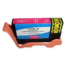 cartouche magenta pour imprimante Lexmark Pro715 équivalent 14N1616E - N°150XL