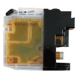 Toner jaune compatible Brother LC125XLY