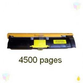 toner yellow pour imprimante Minolta Magicolor 2400 équivalent 1710589-005
