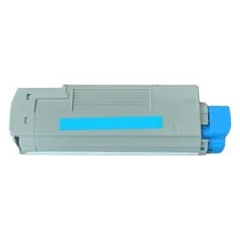 toner cyan pour imprimante Oki C5650 équivalent 43872307