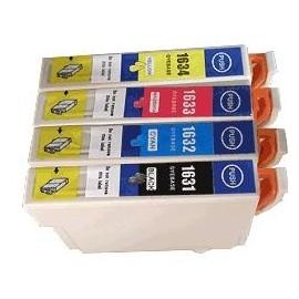 Cartouche pack noir+couleur compatible Epson C13T16364010