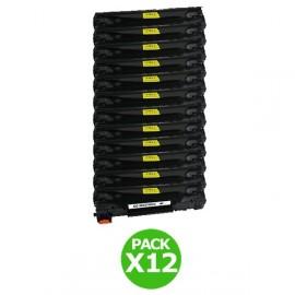Pack 12 toners équivalent CE285A