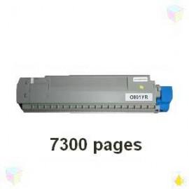 Toner yellow compatible Oki 44643001