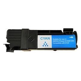toner cyan pour imprimante Xerox Phaser 6125 équivalent 106R1331
