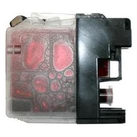 cartouche magenta pour imprimante Brother Dcpj132w équivalent LC123M