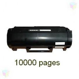 Toner noir compatible Lexmark 60F2H00