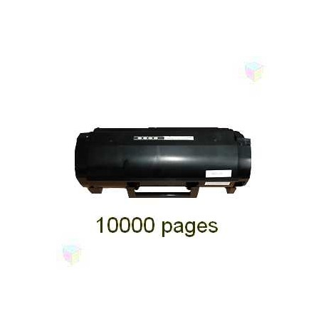 toner noir pour imprimante Lexmark Mx310dn équivalent 60F2H00