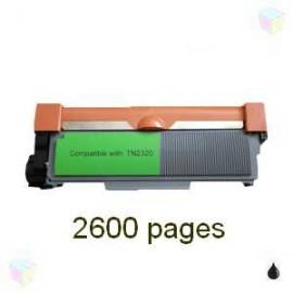 toner compatible TN2320 noir pour Brother Hll2300d