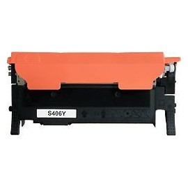 toner compatible CLTY406S yellow pour Samsung Clp360