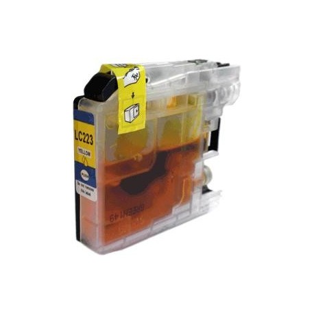 cartouche compatible LC223Y yellow pour Brother Mfcj480dw