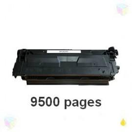 toner compatible CF362X 508X yellow pour HP Color Laserjet Enterprise M552dn