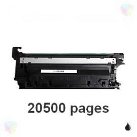 toner compatible CF330X 654X noir pour HP Color Laserjet Enterprise M650