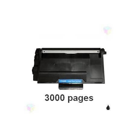toner compatible TN3430 noir pour Brother Hll6250dn