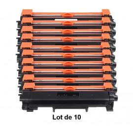 Pack 10 toners pour imprimantes Brother équivalent TN 2420