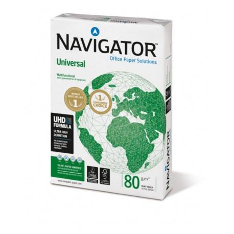 5 cartons de 5 ramettes de 500 feuilles A4 21x29.7 Navigator 80g