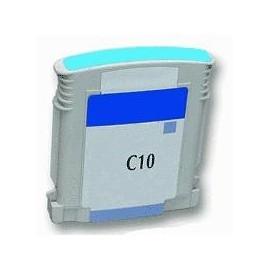 cartouche cyan pour imprimante HP Color Printer 2000 C équivalent C4841A - N°10