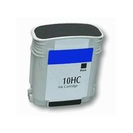 cartouche noir pour imprimante HP Color Printer 2000 Cn équivalent C4844A - N°10
