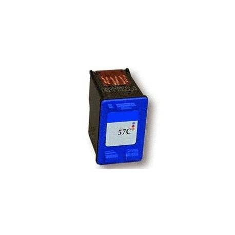 cartouche couleur pour imprimante HP Deskjet 5150 équivalent C6657A - N°57