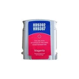 cartouche magenta pour imprimante HP Officejet Pro K5400 équivalent C9392AE - N°88XL