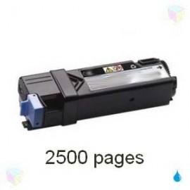 toner cyan pour imprimante Dell 2150cn équivalent 593-11041