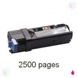 toner magenta pour imprimante Dell 2150cn équivalent 593-11038