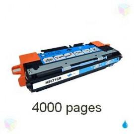 toner cyan pour imprimante HP Color Laserjet 3500 équivalent Q2671A
