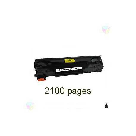toner noir pour imprimante HP Laserjet P1566 équivalent CE278A