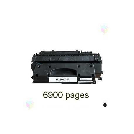toner noir pour imprimante HP Laserjet Pro 400 équivalent CF280X - N°80X