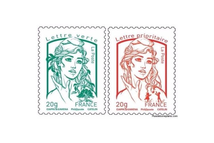 Hausse du prix des timbres